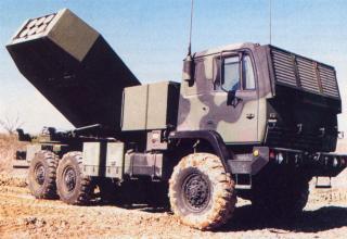 Вариант боевой машины РСЗО HIMARS (США)