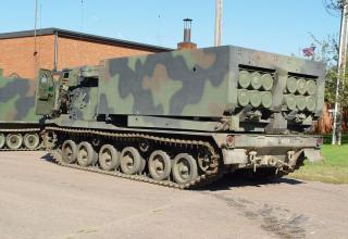 Боевая машина РСЗО MLRS (НАТО)
