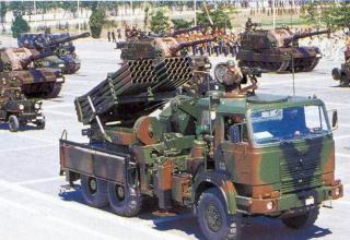 Первый вариант боевой машины Т-122 (Турция)