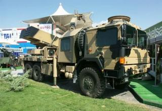 Опытный образец второго варианта боевой машины T-122 (Турция)