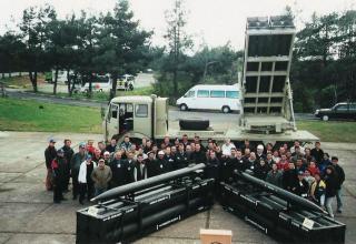 Опытный образец боевой машины РСЗО TOROS (Турция)