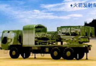 Вариант боевой машины для стрельбы НУРС PR50 калибра 122 мм (Китай)