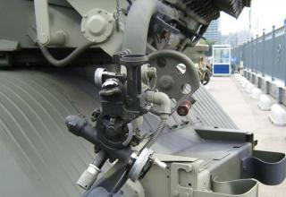 Боевая машина БМ-21-1 на выставке МВСВ 2008