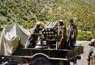 Вариант на шасси грузового автомобиля ГАЗ (Афганистан)