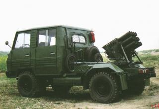Боевая машина Type 81. Китай.
