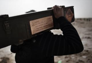 Ящик со снарядом вероятно для установки Type 63 с данными китайской фирмы NORINCO. См. следующее фото.