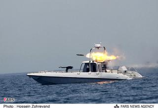 Иранская морская 11-ствольная установка залпового огня для стрельбы реактивными снарядами калибра 107 мм