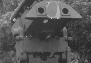 Башенный вариант реактивной системы RADIRS для пуска 14 неуправляемых реактивных снарядов