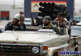 Ливия. 2011 год.