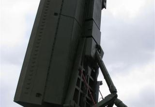 Элемент конструкции РЛС с фазированной антенной решеткой. ©С.В. Гуров.