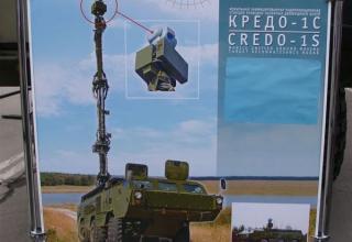 Информация о мобильной унифицированной РЛС разведки наземных движущихся целей КРЕДО-1С. ©С.В. Гуров.
