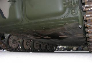 Днище гусеничного шасси с комплексом вооружения для оснащения бронетанковой техники. ©С.В. Гуров.