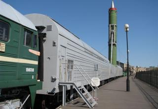 Боевой железнодорожный ракетный комплекс (БЖРК) 15П961