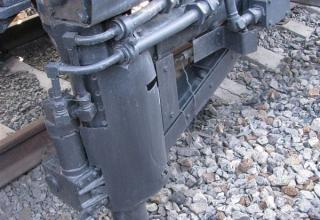 Элементы колесной базы пусковой установки БЖРК 15П961
