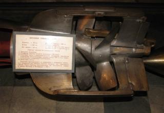 Элемент конструкции макета парогазовой торпеды образца 1912 года. ©С.В. Гуров (г.Тула)