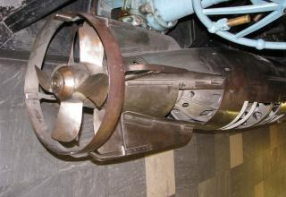Элемент конструкции макета электрической бесследной торпеды