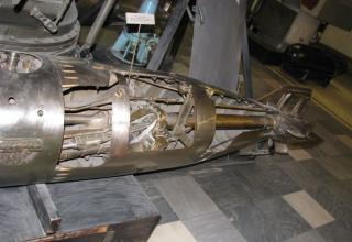Элемент конструкции макета торпеды образца 1938 года. ©С.В. Гуров (г.Тула)