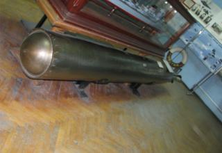 Макет торпеды 45-36 АН. ©С.В. Гуров (г.Тула)