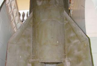 Элемент конструкции макета баллистической ракеты Р-11 ФМ. ©С.В. Гуров (г.Тула)