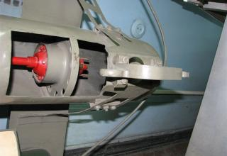 Элемент конструкции модели паравана-охранителя марки