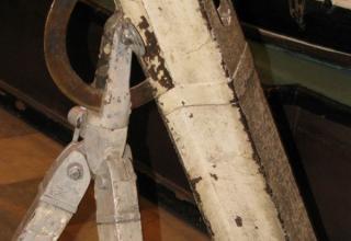 Элементы конструкции ракетного станка К.И. Константинова. ©С.В. Гуров (г.Тула)