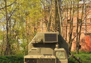 Станция тропосферной связи стратегического ракетного комплекса