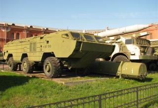 Пусковая установка 9П129 с ракетой 9М79. ©С.В.Гуров