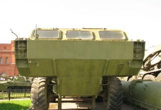 Пусковая установка 9П129 с ракетой 9М79. Вид спереди и переднего днища. ©С.В.Гуров