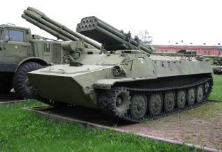 Боевая машина 9П149 с ПТУР 9М14 противотанкового ракетного комплекса