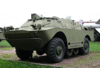 Боевая машина 9П148 с ПТУР 9М111, 9М111М, 9М113 противотанкового ракетного комплекса