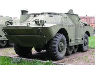Боевая машина 9П133 с ПТУР 9М14П противотанкового ракетного комплекса 9К14