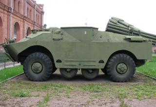 Боевая машина 9П137 с ПТУР 9М17П противотанкового ракетного комплекса