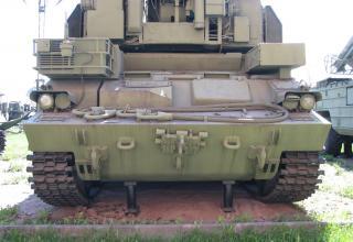 Боевая машина 9А330 (ракеты 9М330) зенитно-ракетного комплекса 9К330