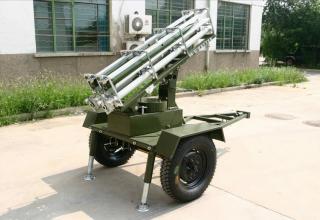 Мобильная пусковая установка групп WR-98,WR-1D.