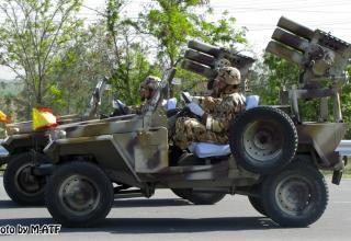 Иран. Шасси иранского военного джипа Safir. http://shusharmor.livejournal.com/561715.html
