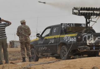 Повстанческие войска пускают РС во время атаки по Сирту. 3.10.2011 г. http://mediagallery.usatoday.com/