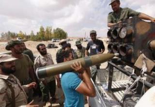 Север ливийского города Bani Walid, 30.09.2011г. REUTERS/Saad Salash