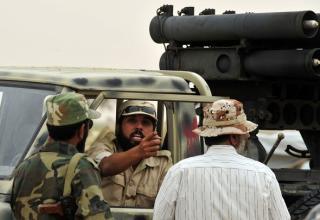 Во время боя в г.Сирт 08.10.2011 г. Getty Images. http://www.daylife.com/photo/052g44C5XK3mO?q=Libya