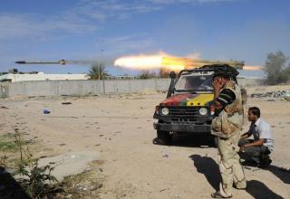 Пуск РС в направлении г.Сирт. 16.10.2011 г. http://www.daylife.com/photo/07Zmbxi8KWald?__site=daylife&q=Libya