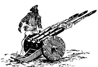 Индийский ракетный станок (ракетный лафет, реактивная пусковая установка)