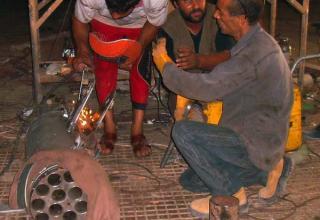 г.Зуварах. Ливия. http://www.temehu.com/Cities_sites/museum-of-conflict.htm. Самодельная установка повстанцев