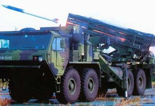 """Опытный образец боевой машины РСЗО RT-2000 ( LT-2000 """"Thunder"""") (Тайвань)"""