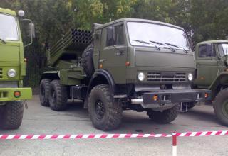 БМ 2Б26 РСЗО