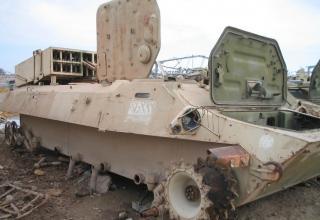 БМ РСЗО на шасси МТ-ЛБ. 2006 год. Ирак. http://shushpanzer-ru.livejournal.com/