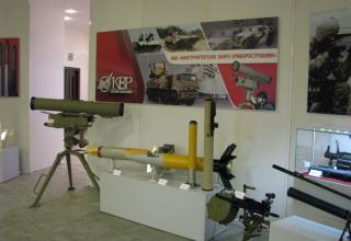 Общий вид части экспозиции ОАО Конструкторского Бюро Приборостроения