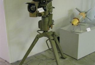 Макет противотанкового ракетного комплекса