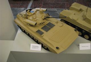 Макет комплекса вооружения с СУО и управляемым вооружением