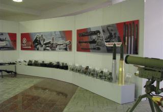 Общий вид части экспозиции