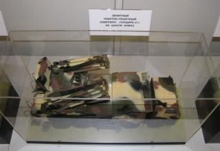 Макет БМ зенитного ракетно-пушечного комплекса