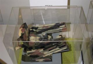 Макет башенной установки ЗРПК